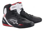 Alpinestars Faster3 Rideknit Shoes Black/White/Red